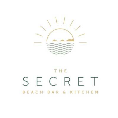 The Secret Beach Bar and Kitchen Logo